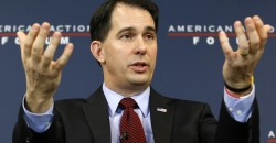 Is Scott Walker related to George Bush?
