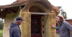 This Man Builds Small Earth Dome Houses For $5,000. You Have To See Inside!