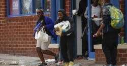 Looters Stealing Toilet Paper, Napkins, and Paper Towels in Baltimore Riot