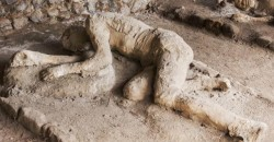 Frozen in Time: Casts of Pompeii Reveal Last Moments of Volcano Victims