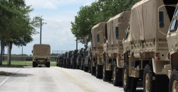 Military Takes Over Florida High-School Parking Lot in Preparation for Terrorist Training