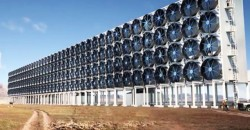 This Giant Wall of Fans Captures Carbon Dioxide Straight Out of the Air, and Can Use it as Fuel