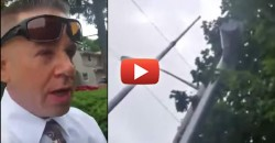 """Red Light Robin Hood"" Man Makes Video Showing How to Disable Traffic Cameras in Just 1 Minute"