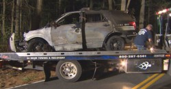 Inside Job: Police Say Officer Shot, Torched Own Vehicle