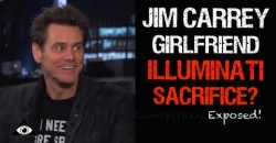"Jim Carrey's Girlfriend -""MURDERED by ILLUMINATI""- in Blood Sacrifice Ritual – Claims Conspiracy"
