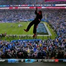 Protesters Drop Banner on Monday Night Football & Bank of America on Live TV