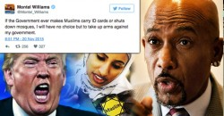 """Montel Williams Promises to """"Take Up Arms"""" Against The Government If ID Cards Are Forced On Muslims"""