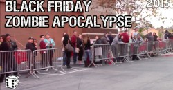 BLACK FRIDAY ZOMBIE APOCALYPSE – 2015 – | by MARK DICE |