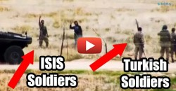 Chilling Video Shows NATO Member State Greeting and Providing Refuge to ISIS Militants