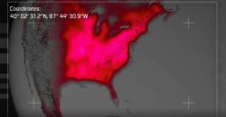 Strange Force Sweeps Over North America