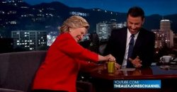 Proof Hillary Staged Pickle Stunt