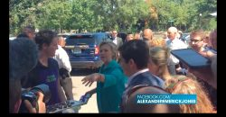 Hillary Delays Coughing Fit Long Enough to Feed Press Chocolate