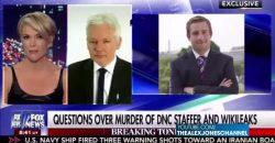 Assange Tells Megyn Kelly He Wants Wikileaks Source Killer Found