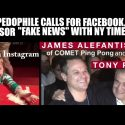 "Pizza Gate: Accused Pedo Directly Calls For ""Fake News"" Censorship with NY Times: James Alefantis"