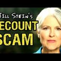 Jill Stein's Recount 2016 Scam Exposed
