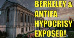 Berkeley and ANTIFA Hypocrisy EXPOSED!