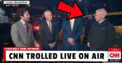 "Man Yells ""CNN is Fake News"" at Anderson Cooper  😂"