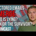 CNN Accuses Survivor of Faking Emails to Prove His Story