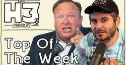 H3 Podcast #77 - Alex Jones Stream Shut Down