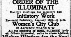 Illuminati Members Explain Their Beliefs in Vintage Newspaper Articles