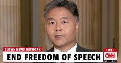 End Freedom of Speech Says Democrat Congressman Ted Lieu
