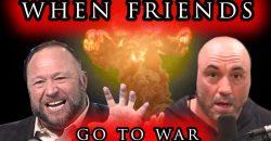 Joe Rogan Versus Alex Jones Part II - When Friends Go To War