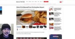 Chik-Fil-A BANNED From ANOTHER Airport For Past Religious Affiliation