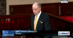 """""""Jails And Prisons Hold TEN TIMES As Many People With Mental Illness Than Hospitals!"""" Sen Grassley"""